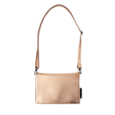 BOOK BAG : ROSE GOLD